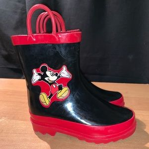 Other - Mickey Mouse Rain boots